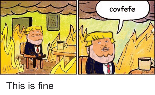 this is fine - trump
