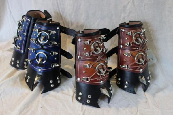 Spiked Fantasy Bracers